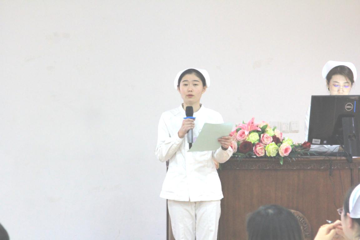 肾五病区护士黄倩演讲