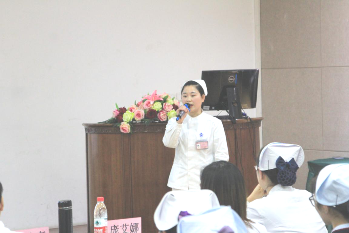 儿童肾病科护士陈小琴演讲