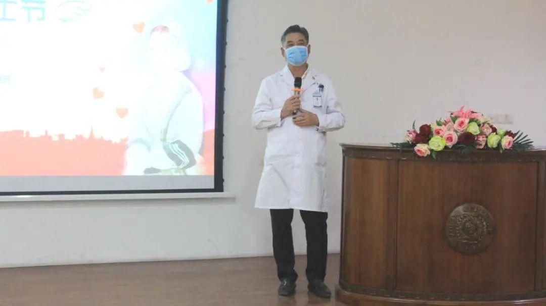 中美医疗集团院长、京东誉美肾病医院院长伍冀湘讲话